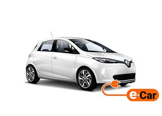 Renault Zoe intense (small battery for up to 150km range)
